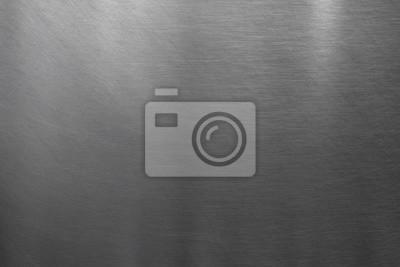 Fototapeta Tekstura szczotkowanej stali nierdzewnej
