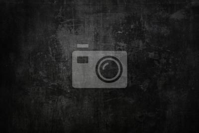 Fototapeta Teksturowane czarne tło grunge