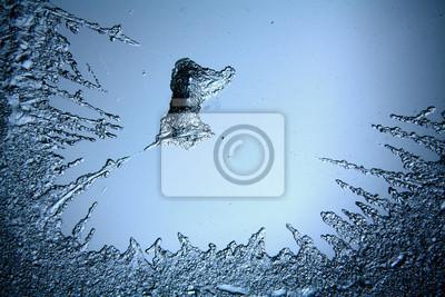 Fototapeta tekstury lodu, zamrożone wody