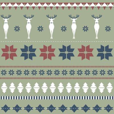 Fototapeta Tekstury ozdobne Christmas