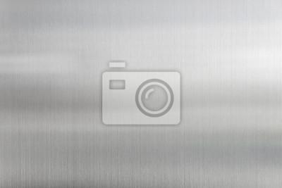 Fototapeta tekstury tła metal ze szczotkowanej blachy stalowej