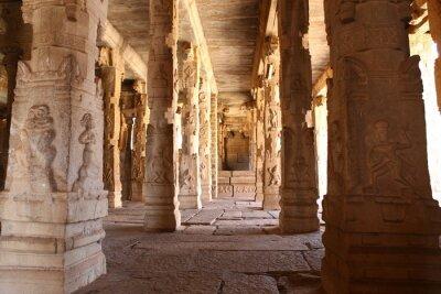 Fototapeta Temple Hampi Karnataka India
