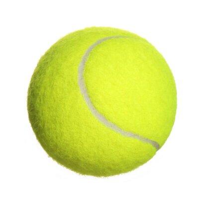 Fototapeta Tenis Piłka samodzielnie na białym tle