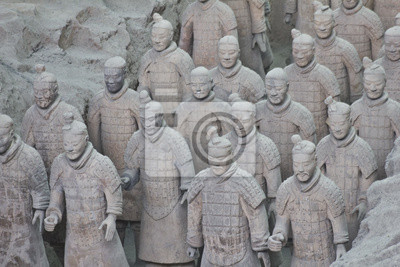 Terakotowa Warriors, Xian, Chiny