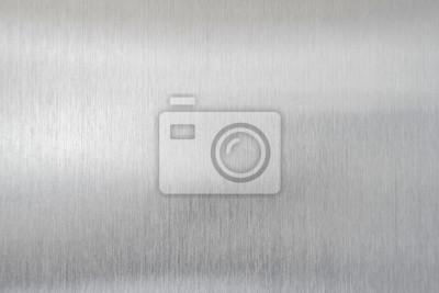 Fototapeta texture metal background of brushed steel plate