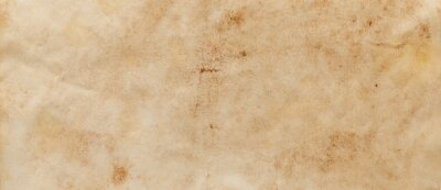 Fototapeta texture of old grunge brown paper surface - vintage background