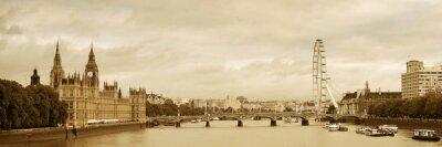 Fototapeta Thames River Panorama