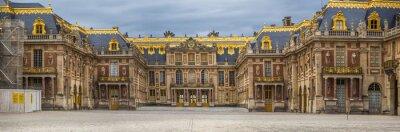 Fototapeta The castle of Versailles in Paris in France