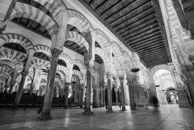 Fototapeta The interior of Mezquita in Cordoba, Spain