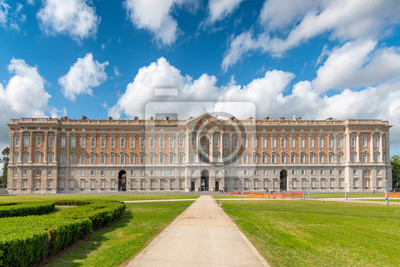 Fototapeta The Royal Palace of Caserta (Reggia di Caserta) a former royal residence in Caserta, southern Italy.