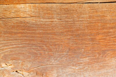 Fototapeta The surface of an old weathered wooden oak slab. Aged wood texture. Oak wood texture, background. Natural wood slab texture Wood Marble