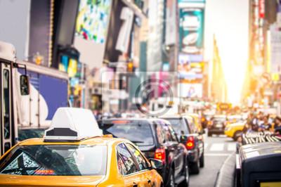 Fototapeta Times Square na Manhattanie