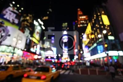 Fototapeta Times Square w nocy