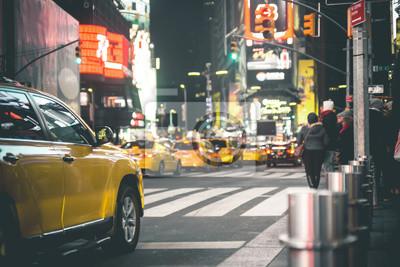 Fototapeta Times Square w nocy - Nowy Jork