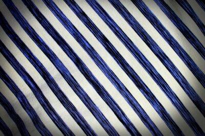 Fototapeta Tkaniny tkanina tło z wzór w paski
