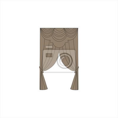Tkaniny Wnętrza Dekoracji Okna Zasłony Fototapety Redro