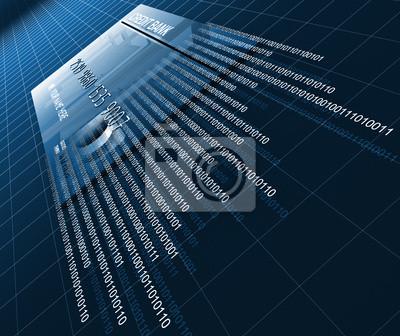 Fototapeta tło karty kredytowej