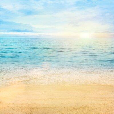 Fototapeta Tło morze i piasek