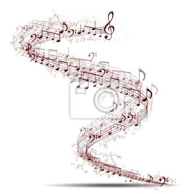 Fototapeta tło muzyczne