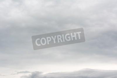 Fototapeta Tło prawdziwych ciężkich chmur.