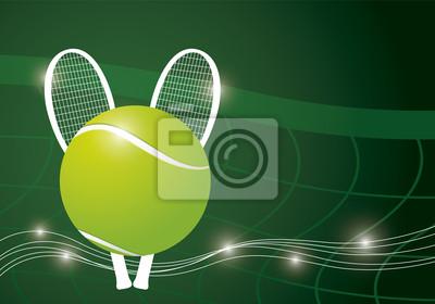 Tło projektu Tenis