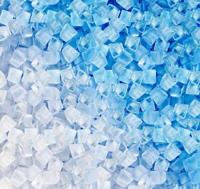 Fototapeta Tło z kostkami lodu