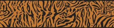 Fototapeta Tło z Tiger skóry