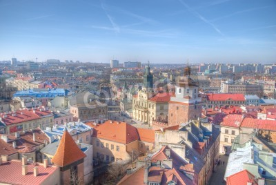 Fototapeta To jest widok Miasta Lublin, Polska