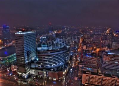 Fototapeta To jest widok z Warszawy, stolicy Polski.