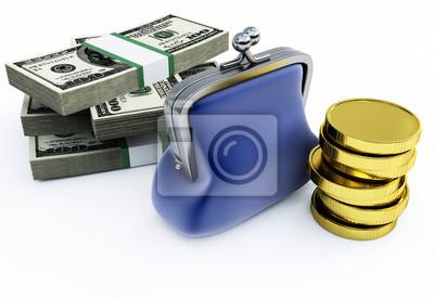 Torebka i pieniądze