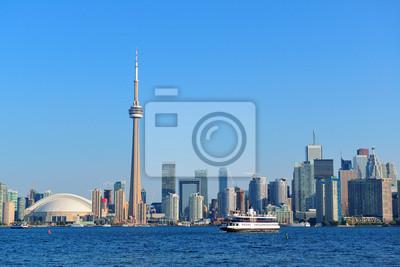 Toronto skyline w dzień