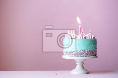 Fototapeta Tort urodzinowy