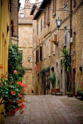 Fototapeta Toskańskiej wiosce we Włoszech
