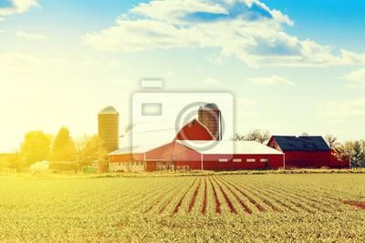 Fototapeta Tradycyjne American Farm