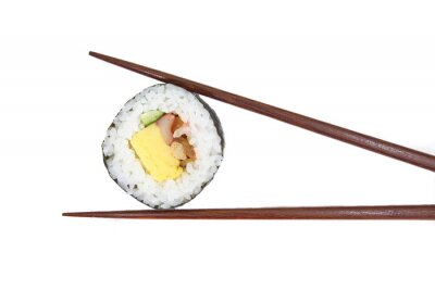 Fototapeta Tradycyjne japońskie sushi świeże