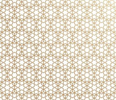Fototapeta tradycyjny islamski geometryczny ornament