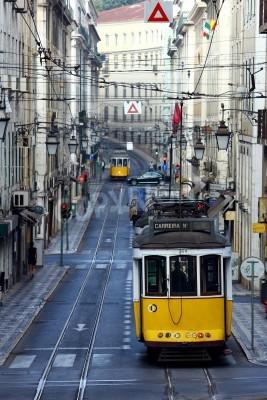 Fototapeta Tramwaj, Lizbona, Portugalia