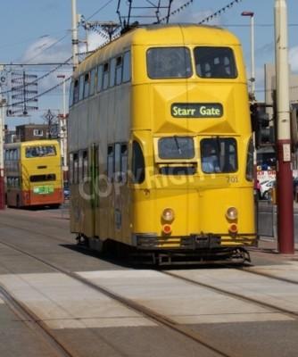 Fototapeta Tramwaj w Blackpool