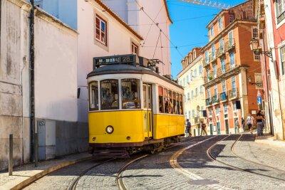 Fototapeta Tramwaj w Lizbonie