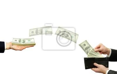 Fototapeta transfer środków