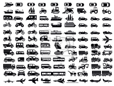 Fototapeta Transport Icon