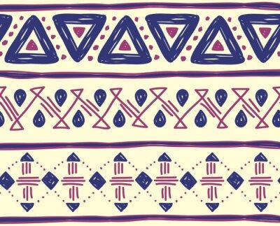 Fototapeta tribal wzór