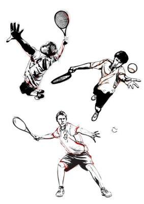 Fototapeta Trio tenis