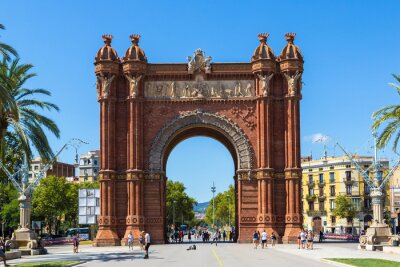 Fototapeta Triumph Arch w Barcelonie, Hiszpania