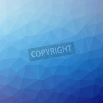 Fototapeta Trójkąt tła. Kolorowe mozaiki banery ilustracji