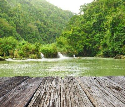 Fototapeta Tropical rzeki