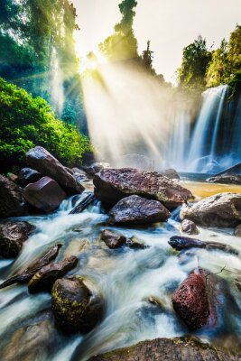 Fototapeta Tropical wodospad