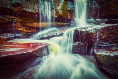 Fototapeta Tropikalna wodospad