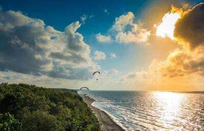 Fototapeta Trzęsacz malowniczy kurort nad Bałtykiem