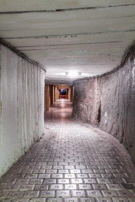 Fototapeta Tunel kopalni